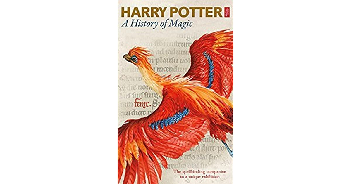 Harry Potter Book Error ~ Harry potter a history of magic by british library