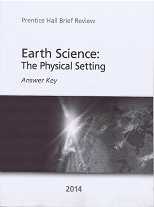 Earth Science: The Physical Setting Answer Key