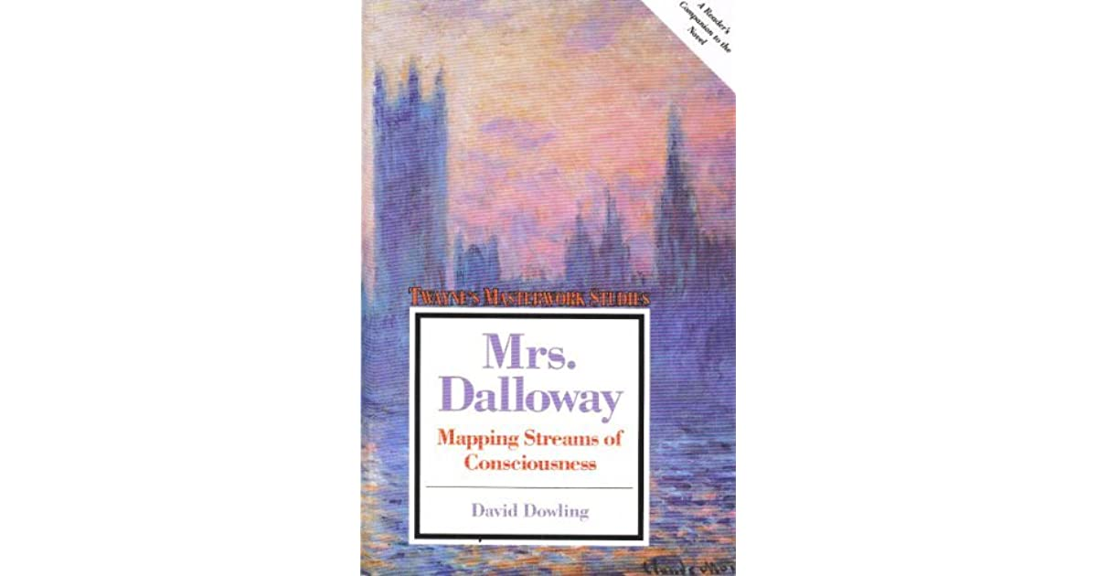 stream of consciousness in mrs dalloway