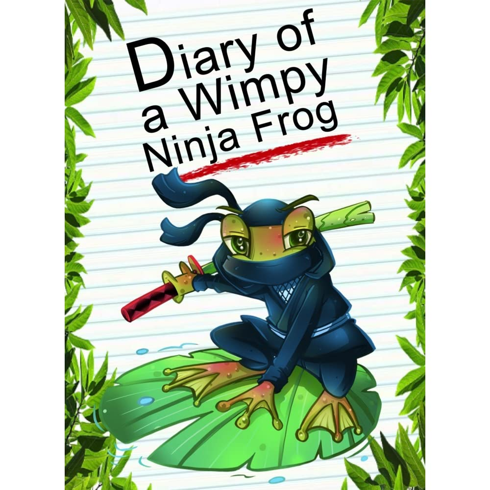 Diary Of A Wimpy Ninja Frog Animal Diary 37 By Red Smith