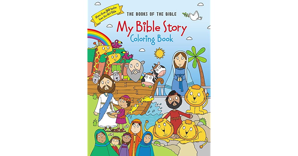 - My Bible Story Coloring Book: The Books Of The Bible By Anonymous
