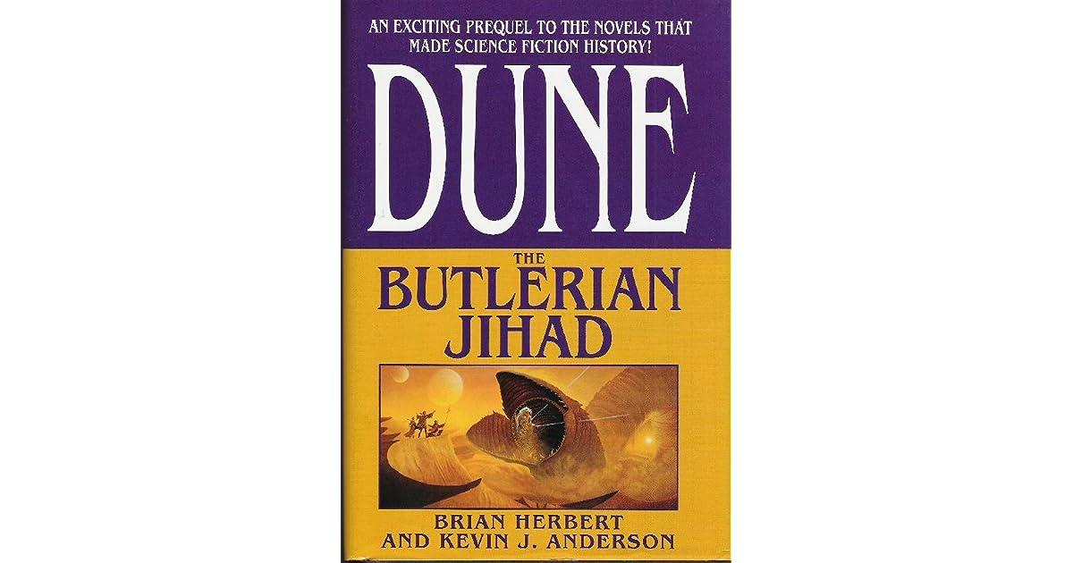 The Butlerian Jihad Legends Of Dune 1 By Brian Herbert