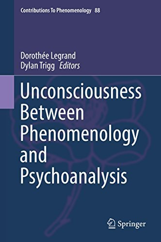 Unconsciousness Between Phenomenology and Psychoanalysis (Contributions To Phenomenology)