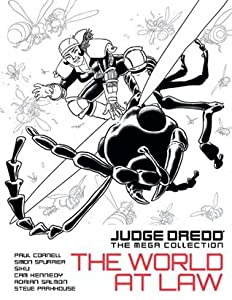 The World at Law. (Judge Dredd: The Mega Collection, #58)