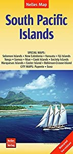 South Pacific Islands Nelles Map 1:13M (Waterproof)
