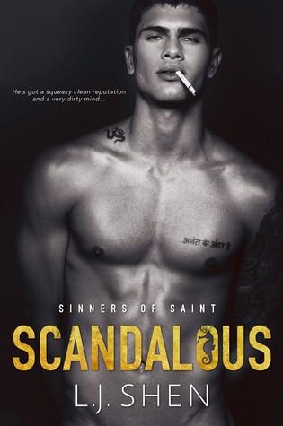 Scandalous (Sinners of Saint, #3)
