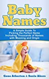 Baby Names by Gene Atherton