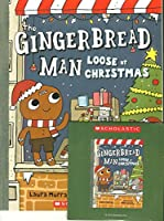The Gingerbread Man Loose at Christmas with read along CD