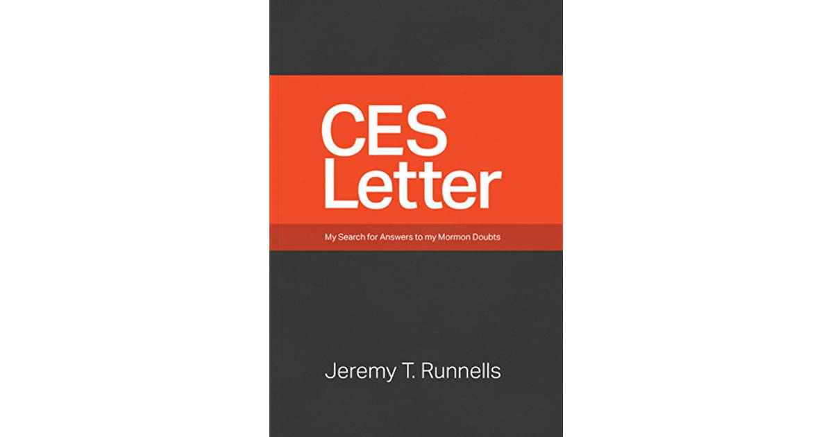 Letter To A CES Director by Jeremy Runnells