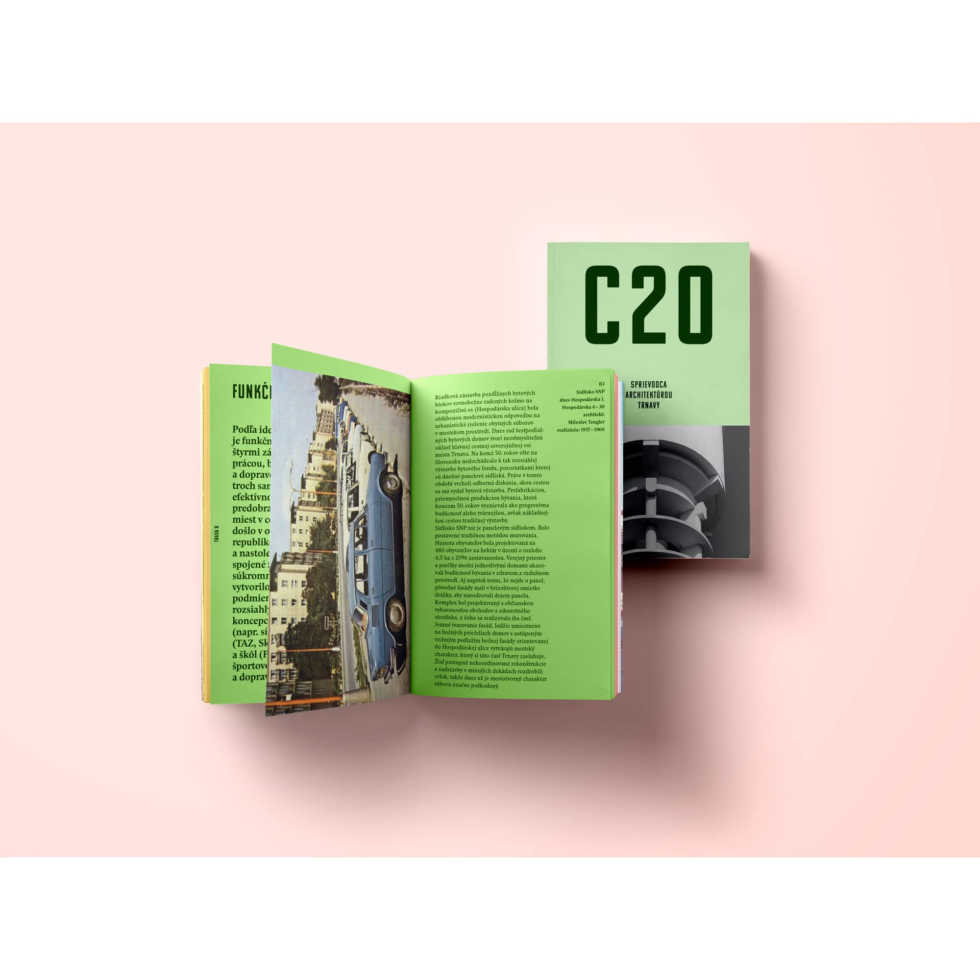 C20: SPRIEVODCA ARCHITEKTÚROU TRNAVY by Martin Zaiček