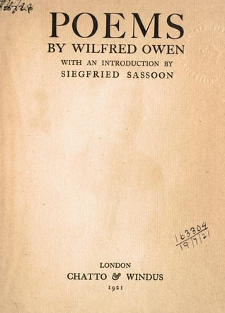 Poems By Wilfred Owen