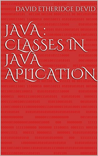 JAVA CLASSES IN JAVA APLICATION