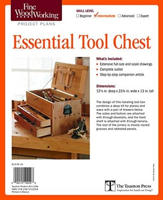 Fine Woodworking S Essential Tool Chest Plan By Fine Woodworking Magazine