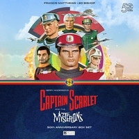 Captain Scarlet and the Mysterons 50th Anniversary Limited Edition Boxset