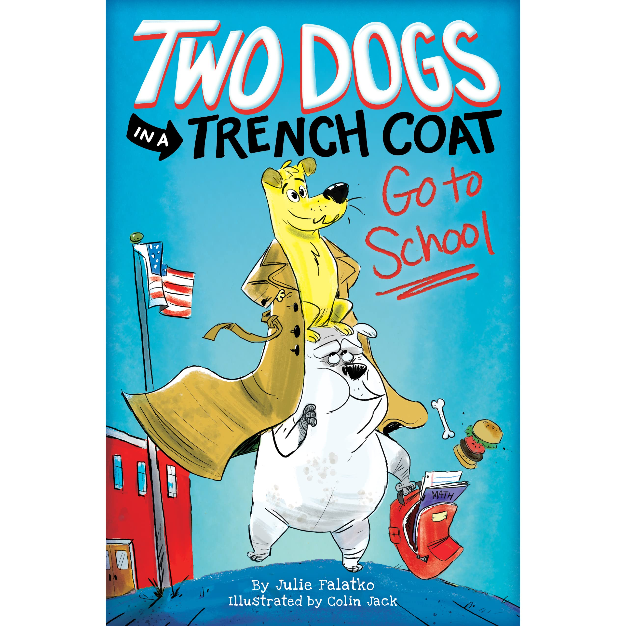 Image result for two dogs and a trench coat
