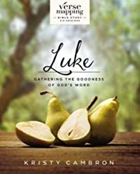 Verse Mapping Luke with DVD: Gathering the Goodness of God's Word
