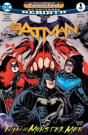 Halloween ComicFest 2017 Batman: Night of the Monster Men Special Edition