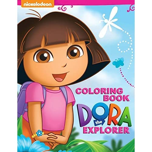 - Dora The Explorer Coloring Book: Great Activity Book For Kids By Steve  Pictor