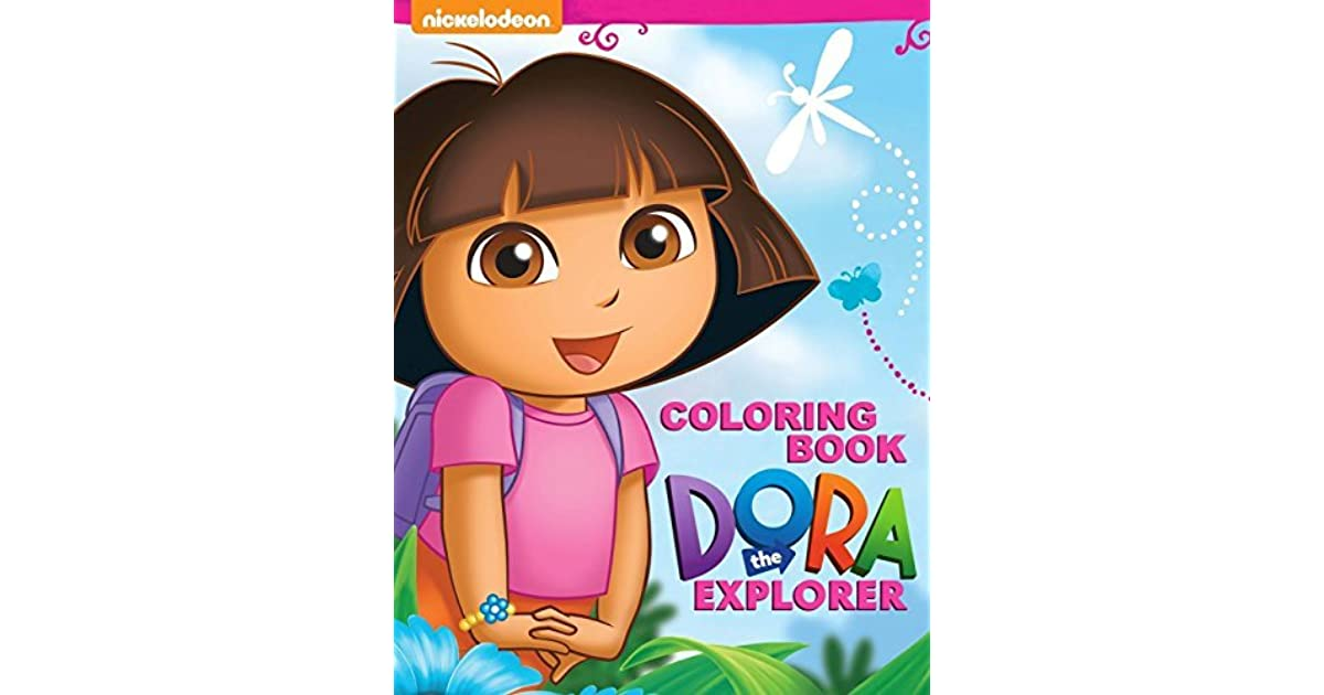 Dora The Explorer Coloring Book: Great Activity Book For Kids By Steve  Pictor