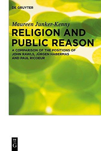 Religion and Public Reason (Praktische Theologie Im Wissenschaftsdiskurs)