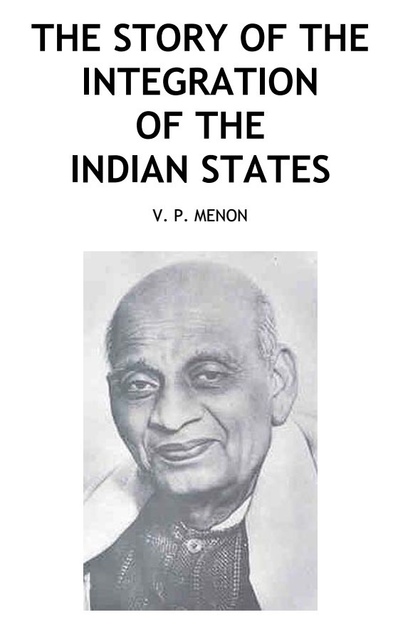 the story of the integration of the Indian states