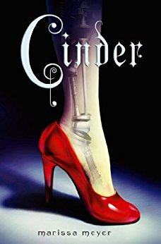 "Cover of Marissa Mayer's ""Cinder"""