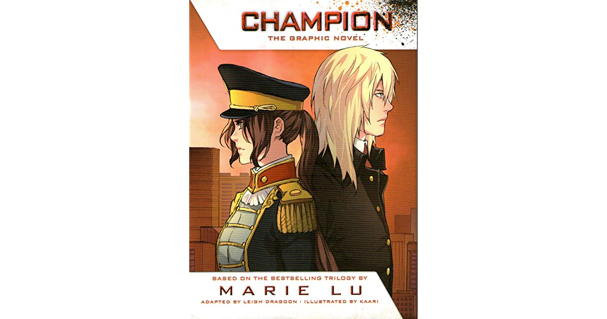 Champion the graphic novel by marie lu sciox Choice Image