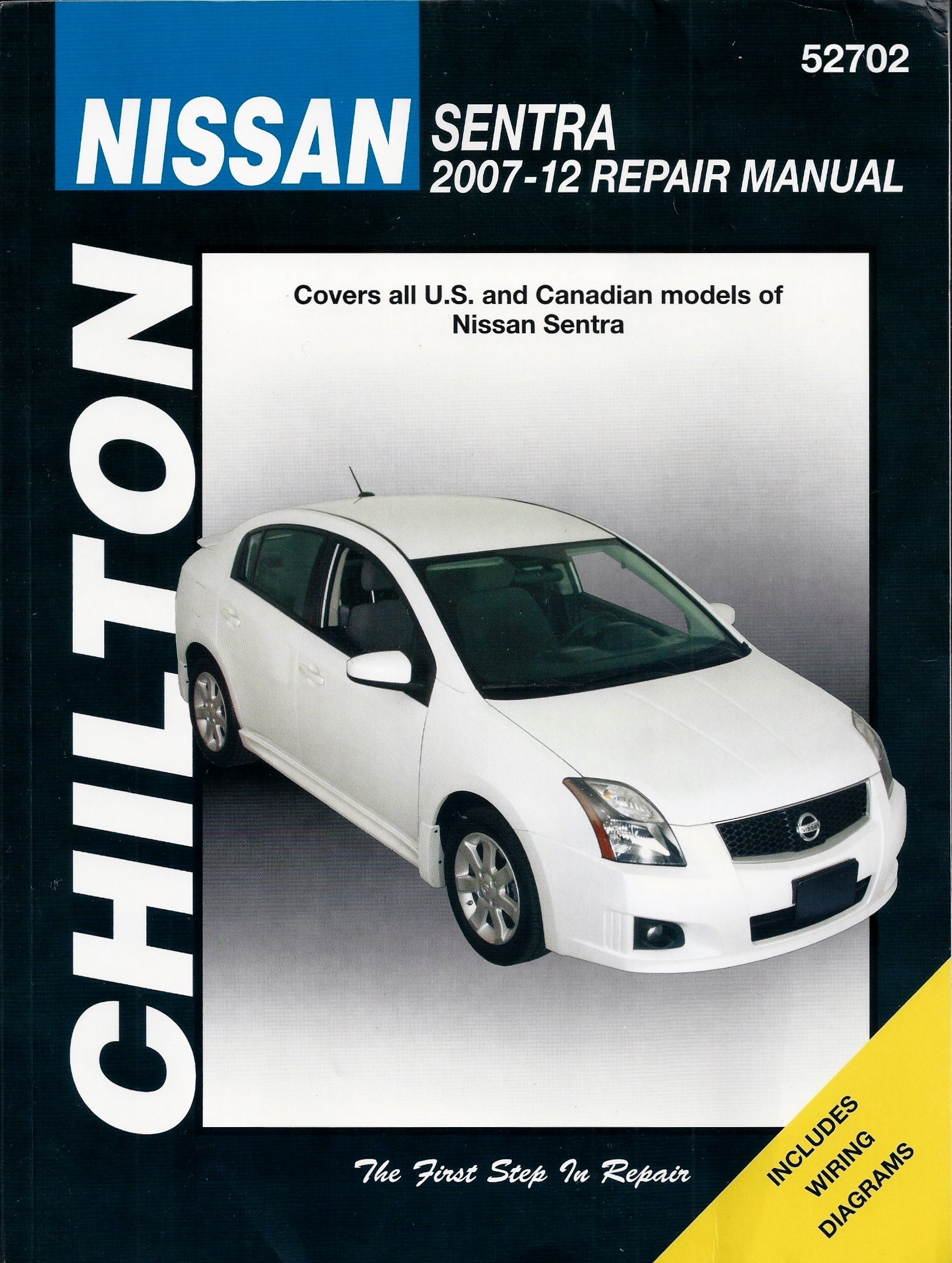 sentra service manualarray chilton u0027s 2007 12 nissan sentra repair manual by jeff killingsworth rh goodreads com