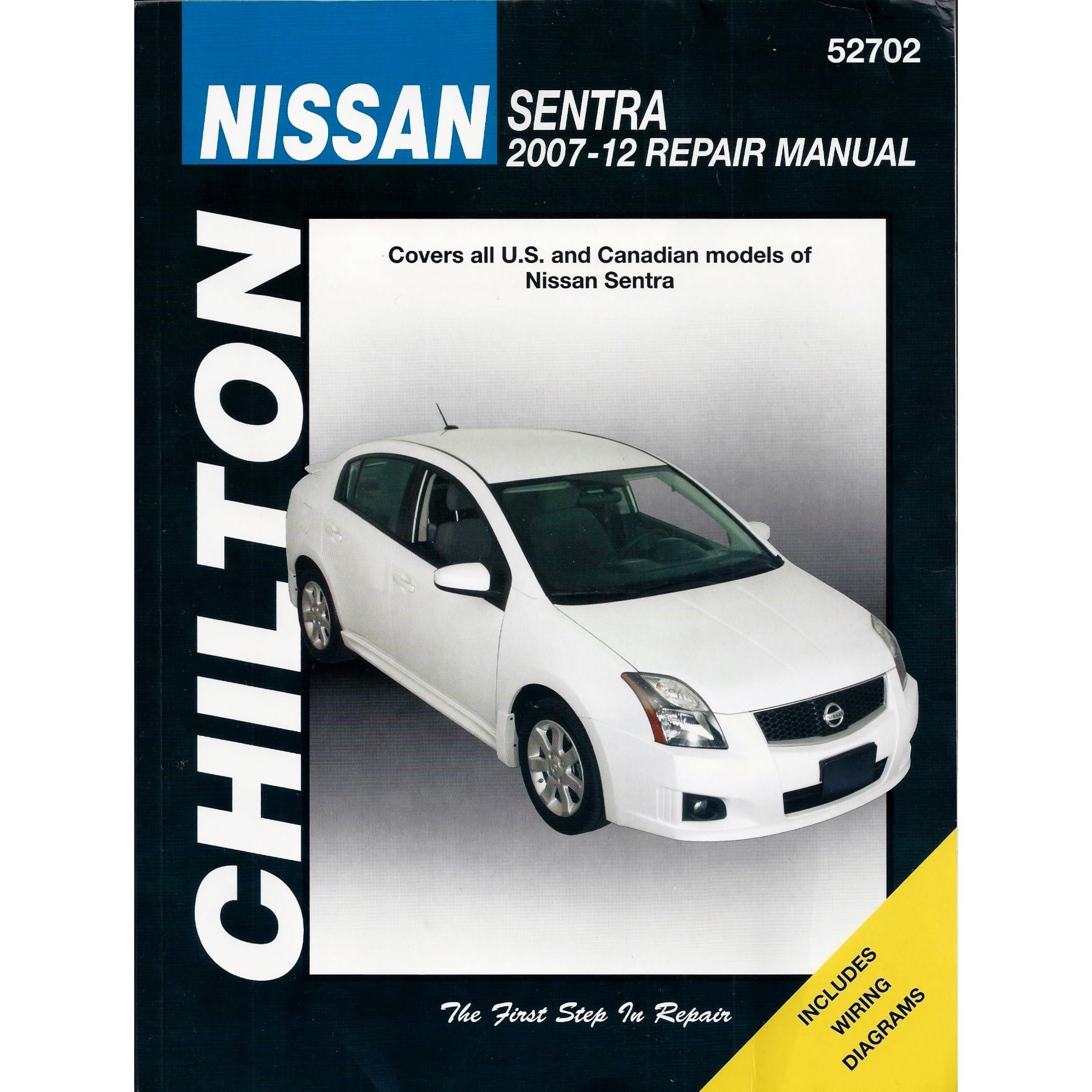 chilton s 2007 12 nissan sentra repair manual by jeff killingsworth rh goodreads com nissan sentra 2007 repair manual alternator nissan maxima 2007 repair manual