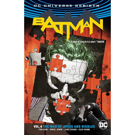 Batman, Volume 4: The War of Jokes and Riddles by Tom King