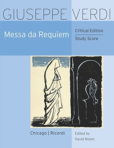 Messa da Requiem Critical Edition Study Score