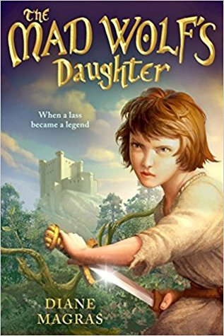The Mad Wolf's Daughter cover (link to Goodreads)