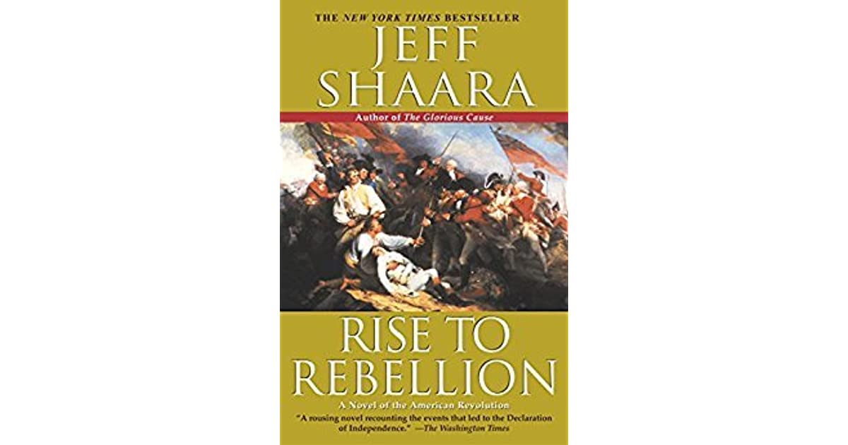 the glorious cause by jeff shaara chapter summaries
