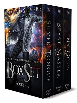 The Nate Temple Supernatural Thriller Box Set 2 (The Temple Chronicles, #4-6)