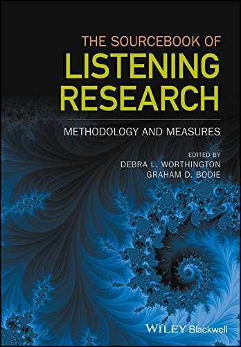 The Sourcebook of Listening Research Methodology and Measures