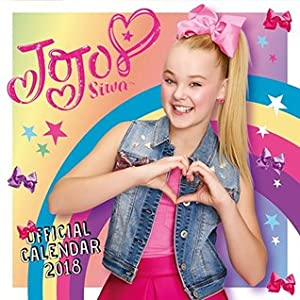 JoJo Siwa Official 2018 Calendar - Square Wall Format