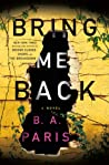 Bring Me Back audiobook review
