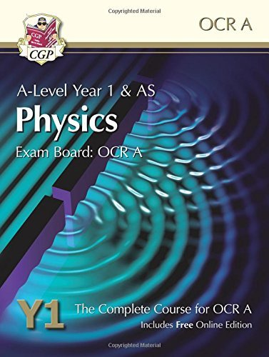 New A-Level Physics for OCR A Year 1 & AS Student Book with Online Edition