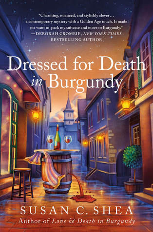 Dressed for Death in Burgundy (French Village Mysteries, #2)