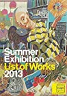 Summer Exhibition List of Works 2013