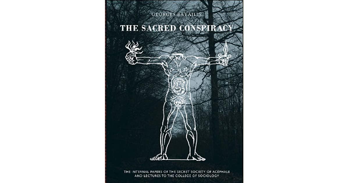 The Sacred Conspiracy  The Internal Papers of the Secret