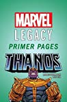Thanos - Marvel Legacy Primer Pages
