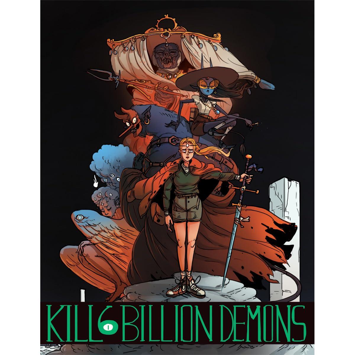 Kill 6 Billion Demons, Vol  2 by Tom Parkinson-Morgan
