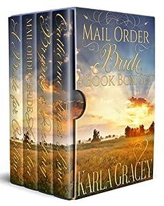 Mail Order Bride 4 Book Box Set (Faith Creek Brides #1)(Sun River Brides #1)(Silver River Brides #1)(Ruby Springs Brides #1)