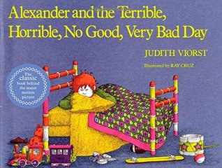 Alexander and the Terrible, Horrible, No Good, Very Bad Day by Judith Viorst cover art