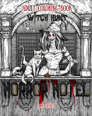 Adult Coloring Book Horror Hotel: Witch Hunt
