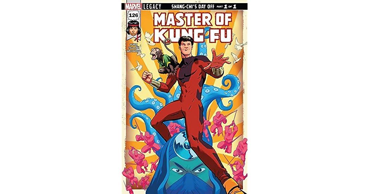 MARVEL//2017 MARVEL LEGACY JAVIER RODRIGUEZ COVER MASTER OF KUNG-FU #126