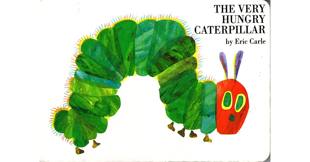 the very hungry caterpillar by eric carle. Black Bedroom Furniture Sets. Home Design Ideas