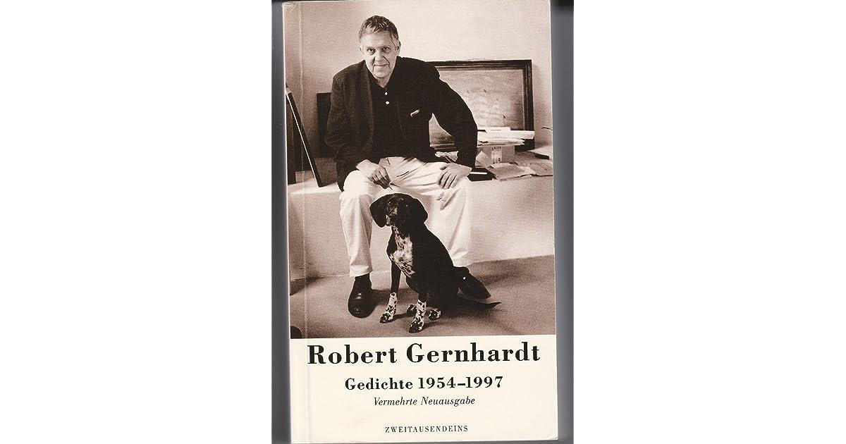 Gedichte 1954 1997 By Robert Gernhardt
