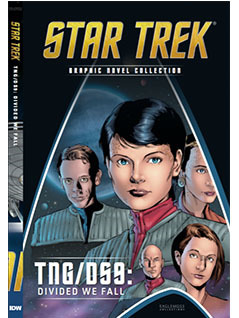 TNG/DS9: Divided We Fall (Star Trek The Graphic Novel Collection, #22)